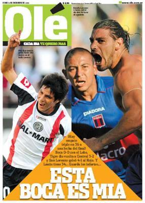Tres en punta - Torneo Apertura 2008 - Final apasionante